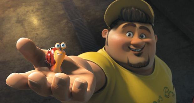 Personagem Tito segura Turbo na mão