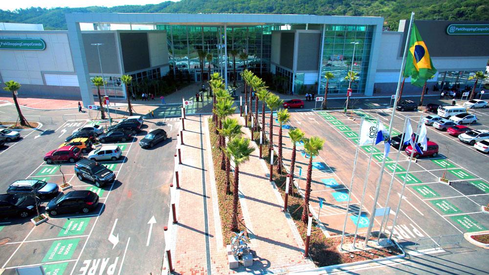 Resultado de imagem para park shopping campo grande entrada