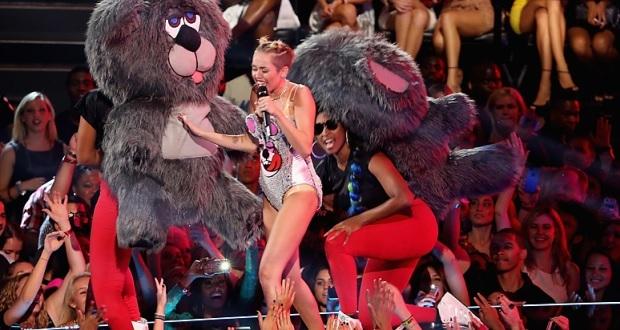 Miley Cyrus no VMA 2013