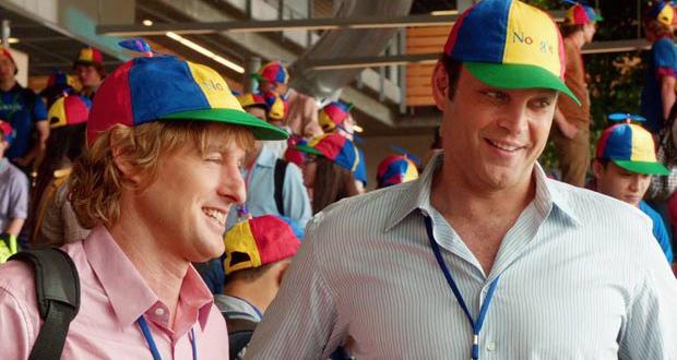 Owen Wilson e Vince Vaughn em cena de Os Estagiários