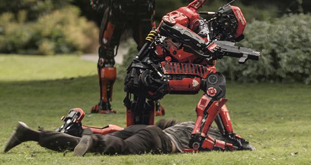 Robô militar em Elysium