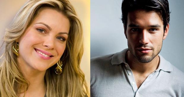 Renata Fan e Sergio Marone, apresentadores do Miss Brasil 2013