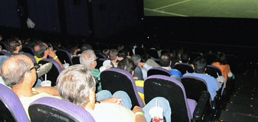 imagem da sala do Cinemark