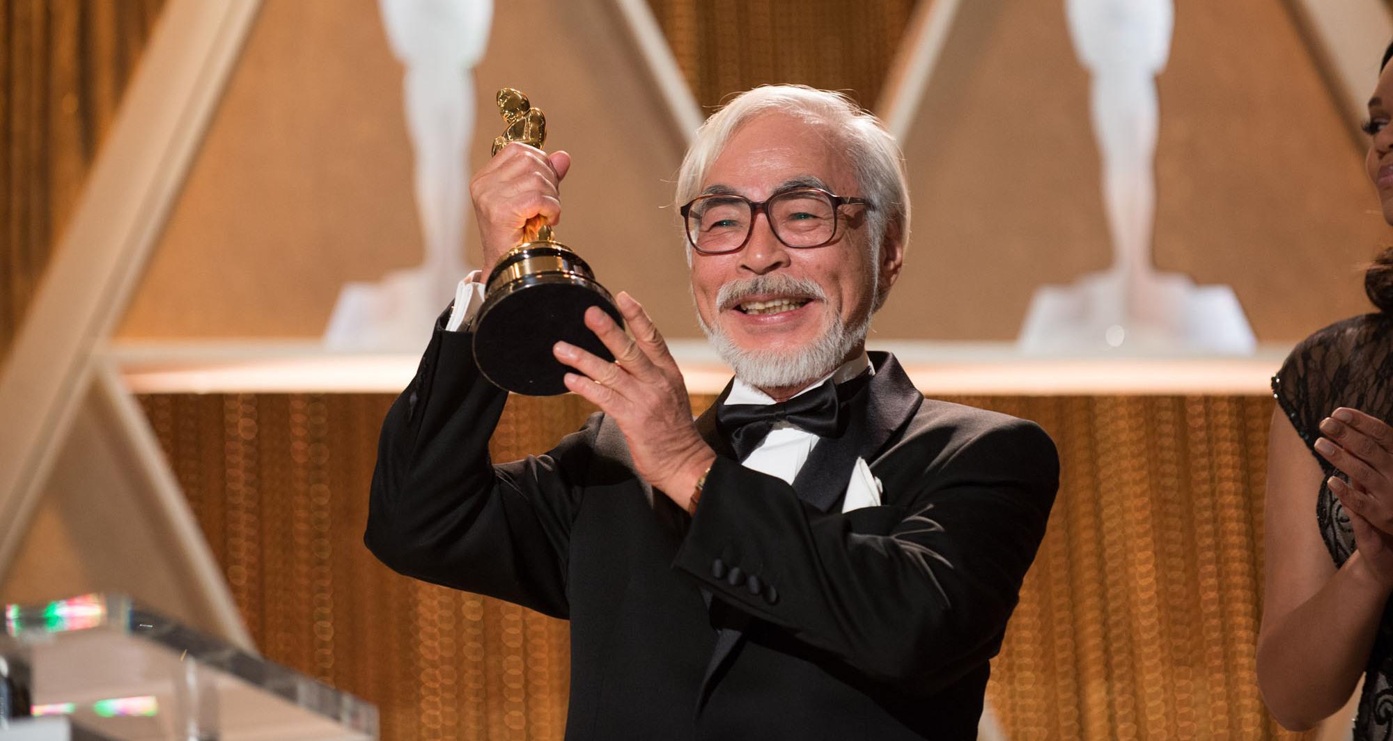 Hayao Miyazaki recebe Oscar Honorário