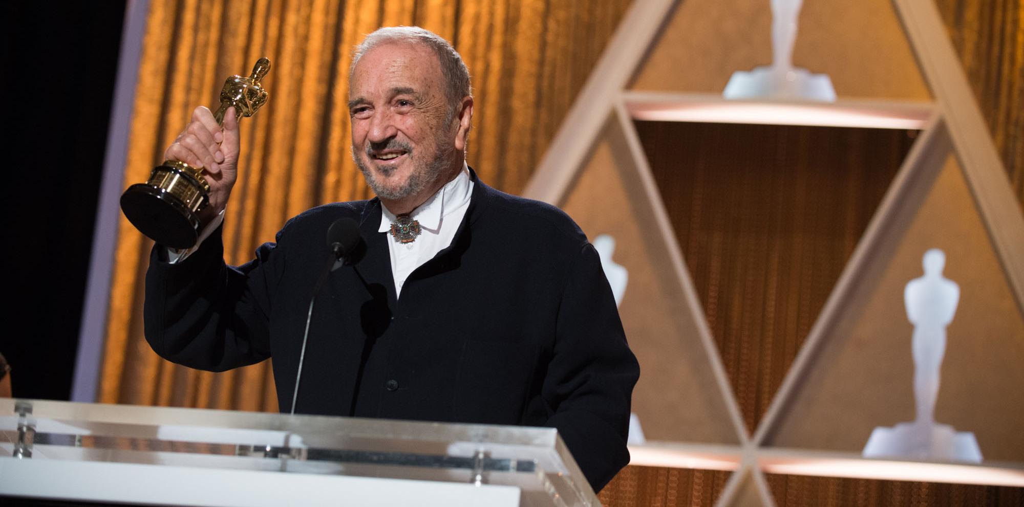 Jean-Claude Carrière recebe Oscar Honorário