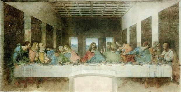 fotos da exposição de Leonardo da Vinci