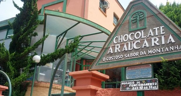 Fábrica de Chocolates Araucária - Campos do Jordão