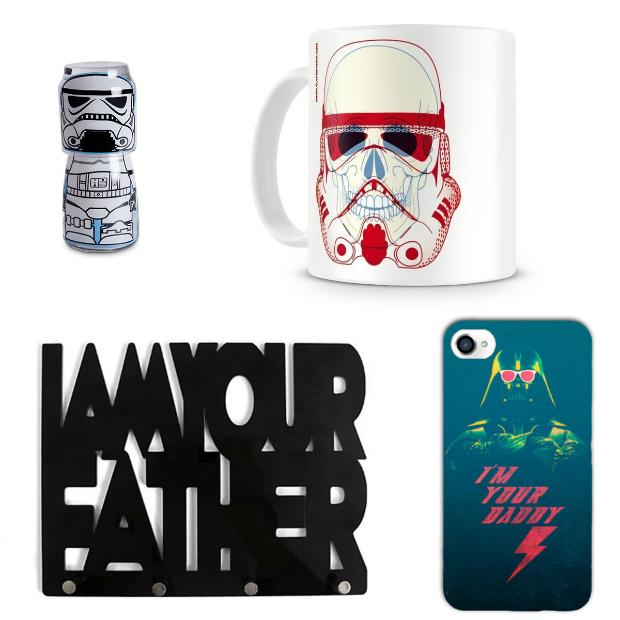 presentes de natal para quem gosta de star wars