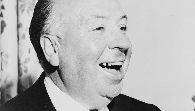 Hitchcock é conhecido por seus filmes de suspense.