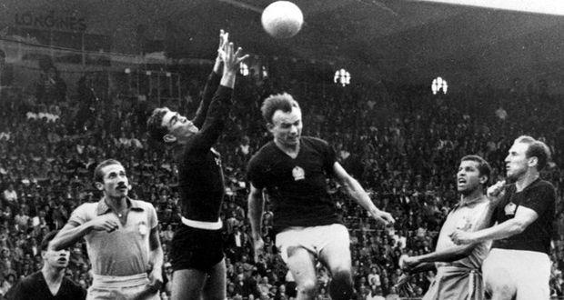 Brasil e Hungria pela Copa de 1954