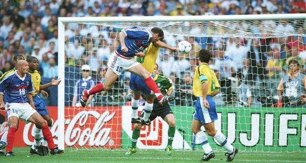 Brasil e França em 1998