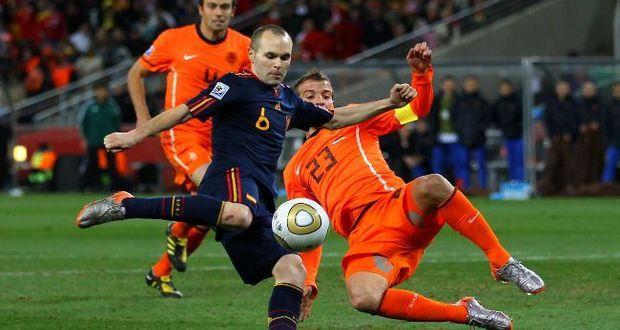 Espanha e Holanda na final da copa de 2010