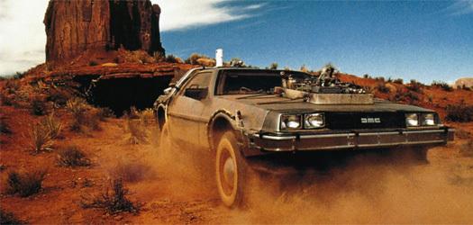 DeLorean do Doc. Brown