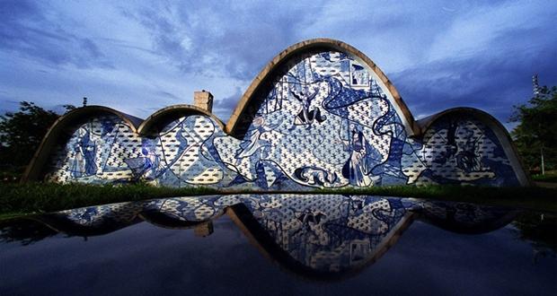 Image result for Conjunto arquitetônico da Pampulha