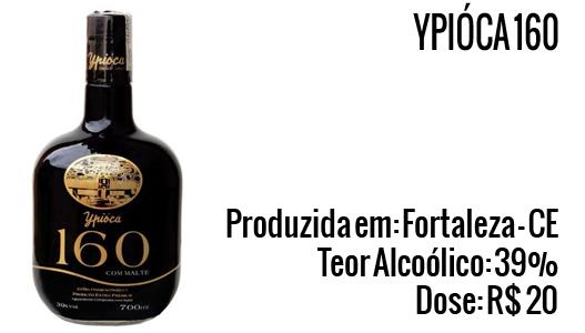 Cachaça Ypióca 160