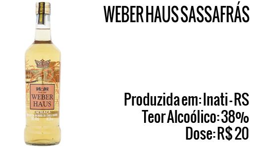 Cachaça Weber Haus Sassafrás