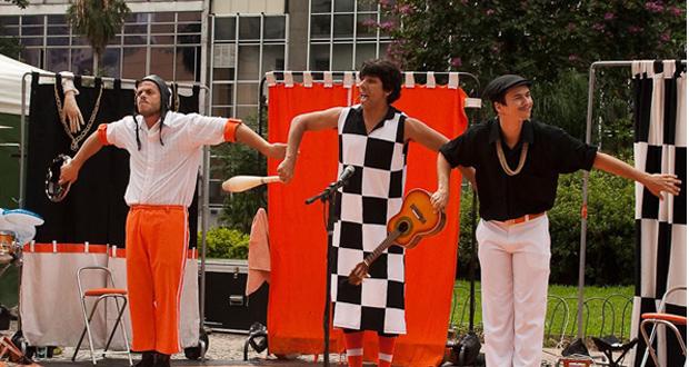 Viagens: Circo na Praça Roosevelt Virada Cultural 2014