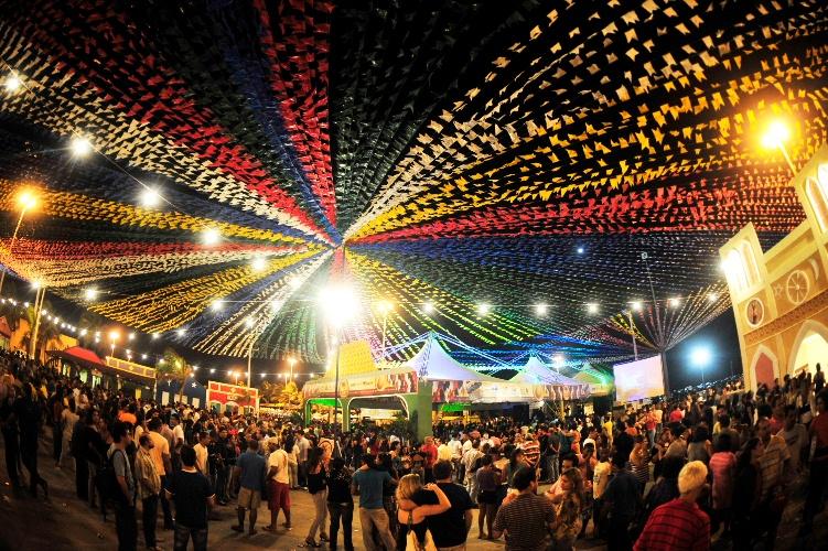 A Festa Junina da Portuguesa é considerada uma das maiores e mais completas de São Paulo. Foto: Divulgação.