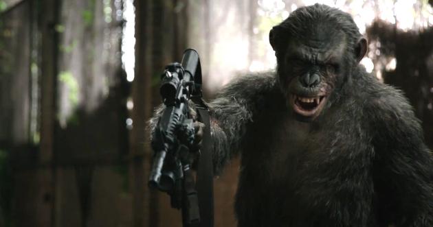 Toby Kebbell dá vida a Koba, um macaco que busca vingança contra os humanos