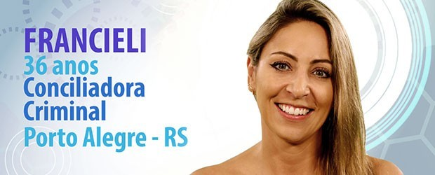 Francieli participante do BBB15