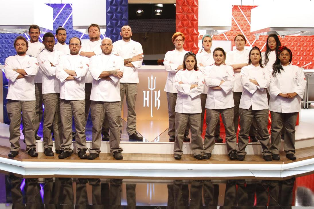 Participantes da 3ª temporada do Hell's Kitchen – Cozinha Sob Pressão