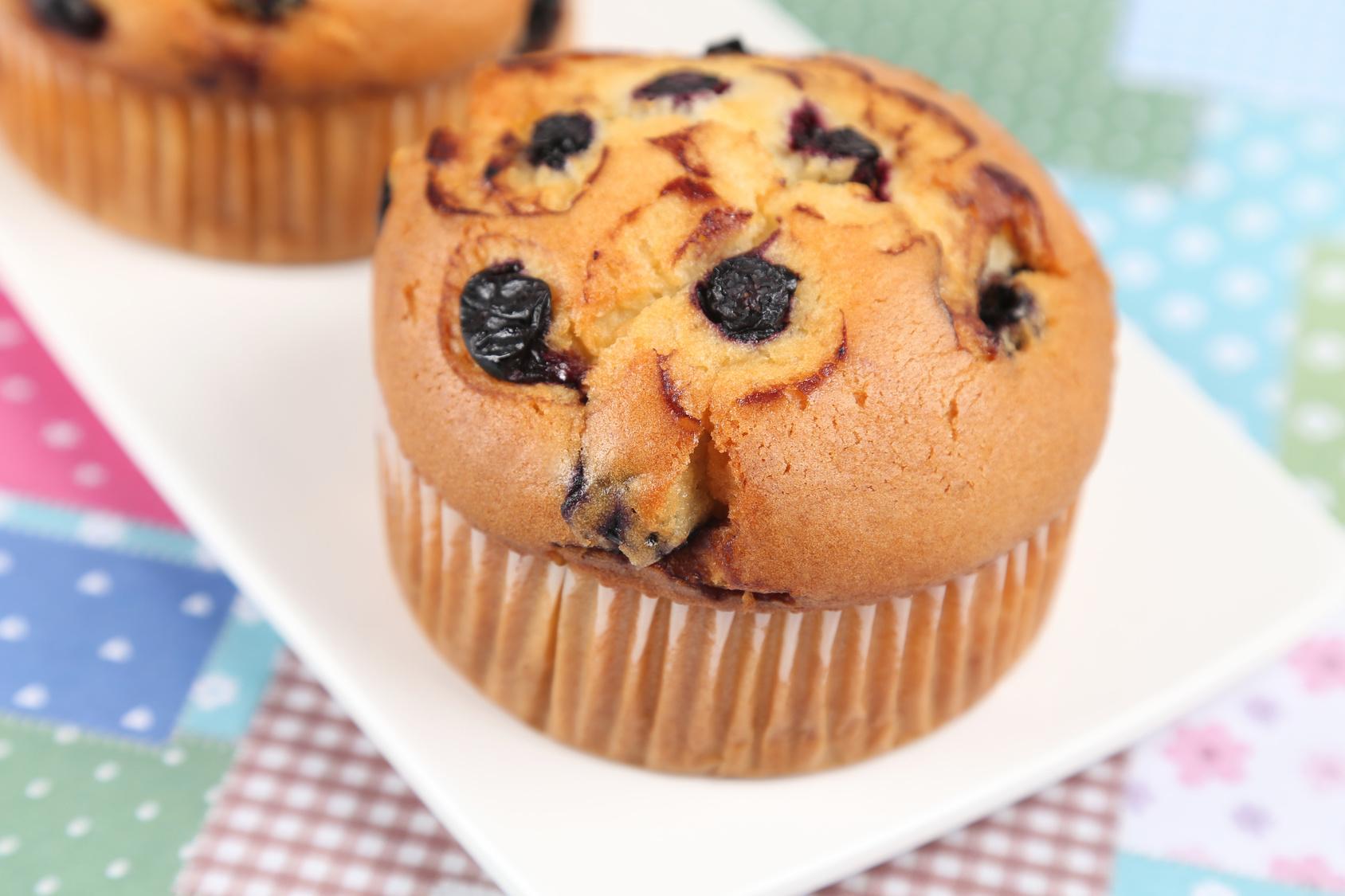 Muffin de Uva Passa