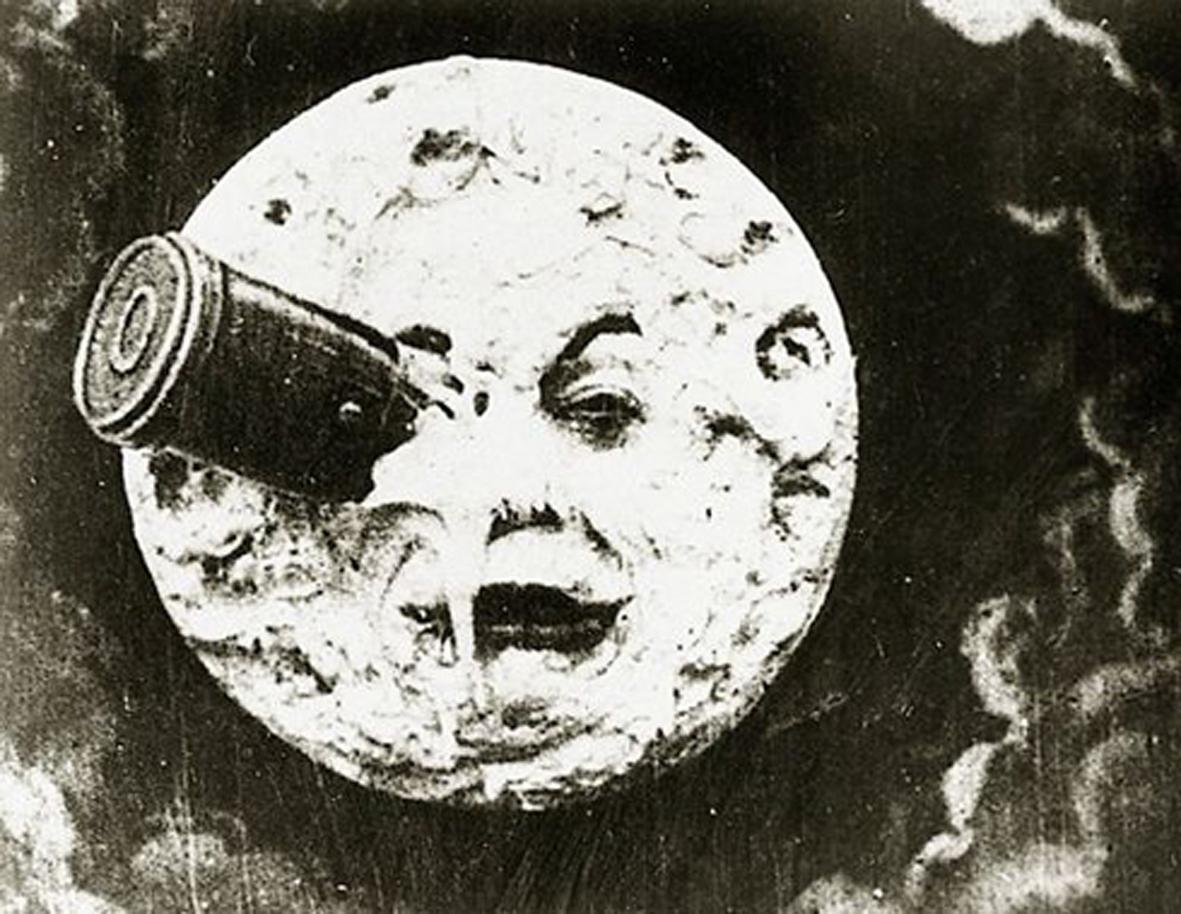 """""""Viagem à Lua"""" de Georges Méliès (1902)"""