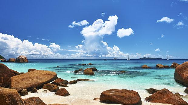 Anse Lazio - Ilhas Seychelles