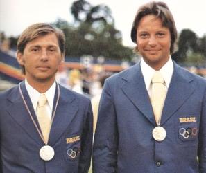 Reinaldo Conrad e Peter Ficker