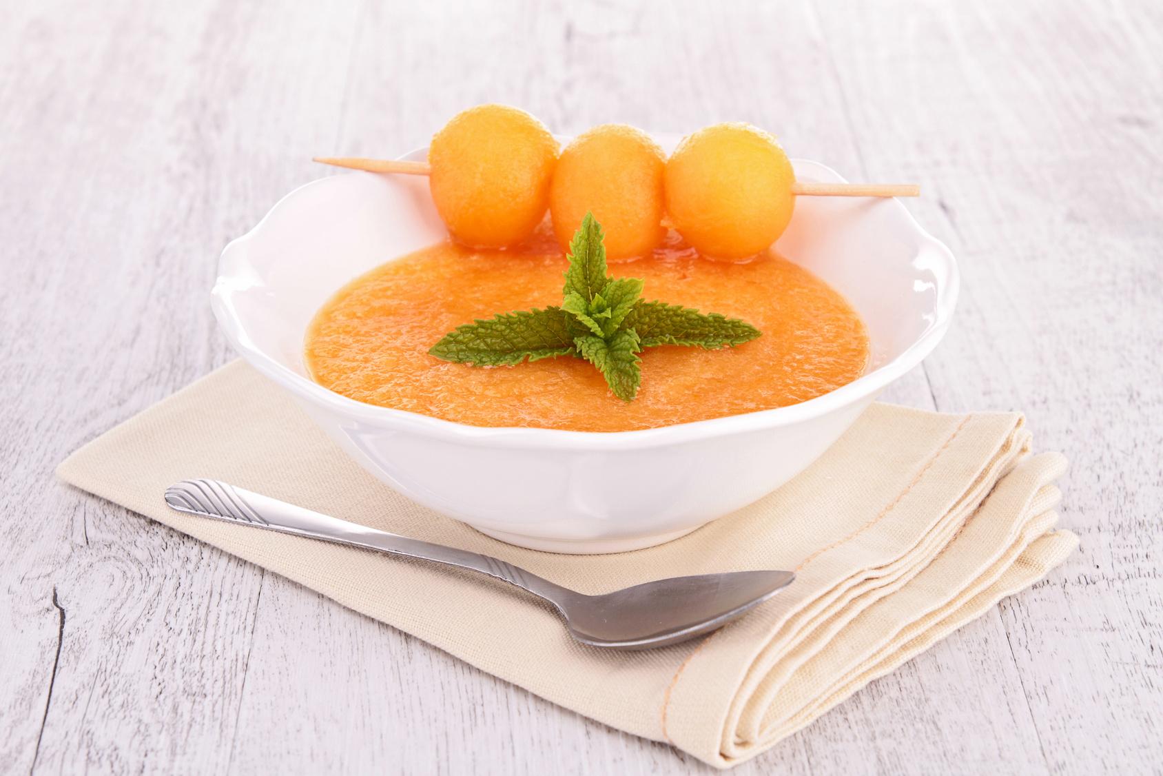 Sopa de melão