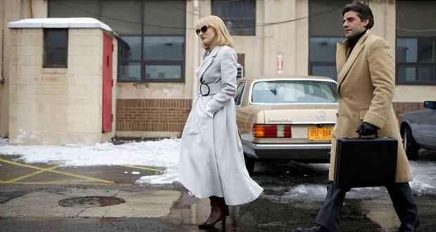 """Jessica Chastain  e Oscar Isaac em """"O Ano Mais Violento"""""""