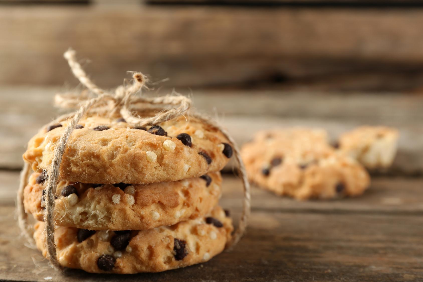 Cookie light de chocolate
