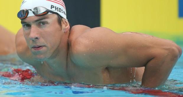 1º - Michael Phelps