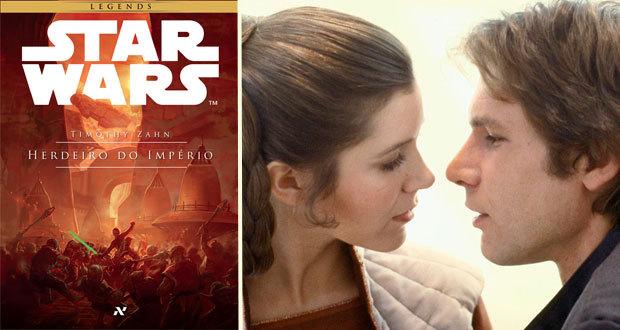"""Em """"O Herdeiro do Império"""", Leia e Han esperam gêmeos enquanto lutam para erguer a Nova República"""