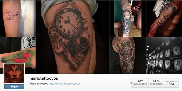 Tatuador Mario do Tattoo you