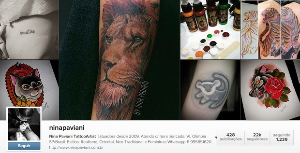 tatuadora nina paviani