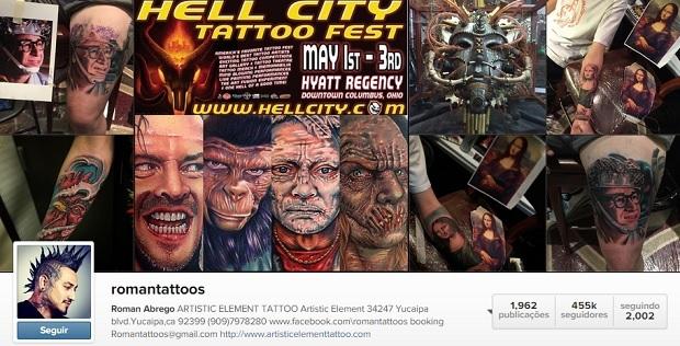 tatuador roman abrego