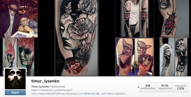Arte: 10 tatuadores incríveis para seguir no instagram e se inspirar