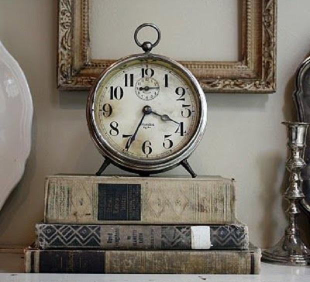 relógio para decoração