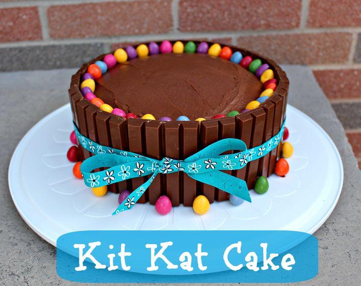 Bolo de Kit Kat