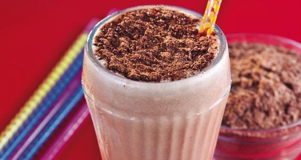 Milkshake de Ovomaltine do Bob's