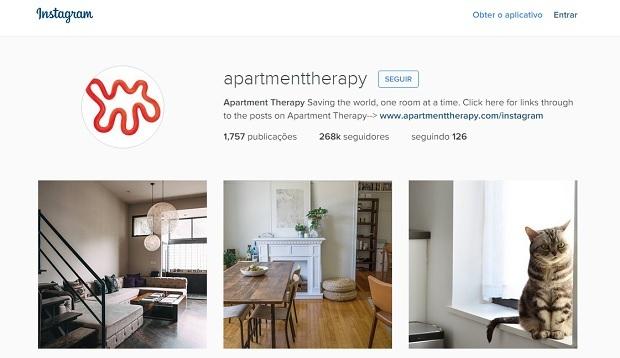 apartment therapy perfis no instagram para quem gosta de decoração