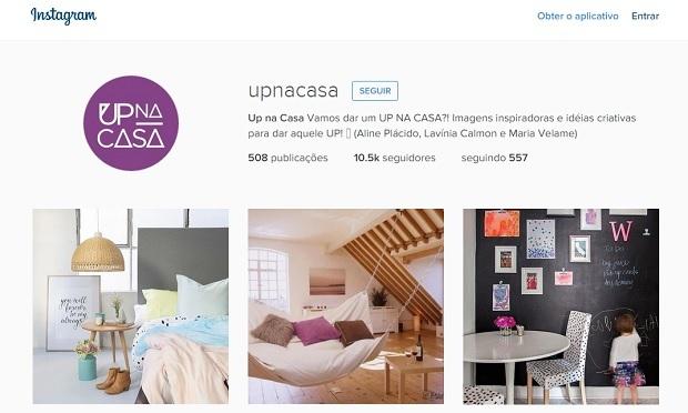 Up na casa perfis no instagram para quem gosta de decoração