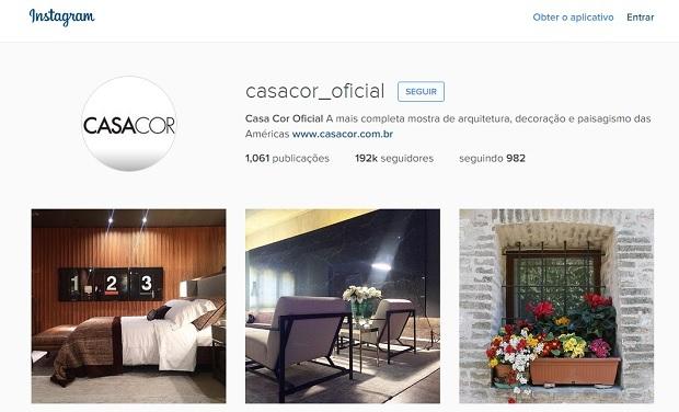 casa cor perfis no instagram para quem gosta de decoração