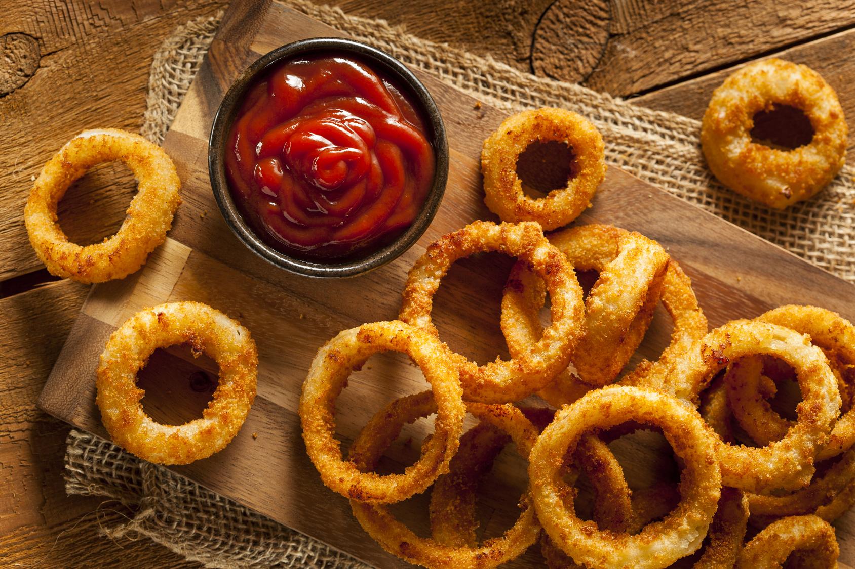 Onion Rings (Anéis de Cebola)