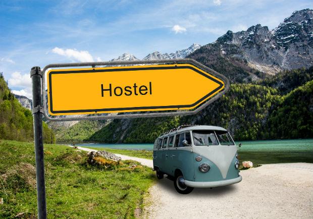 Hospedagem? Hostel!