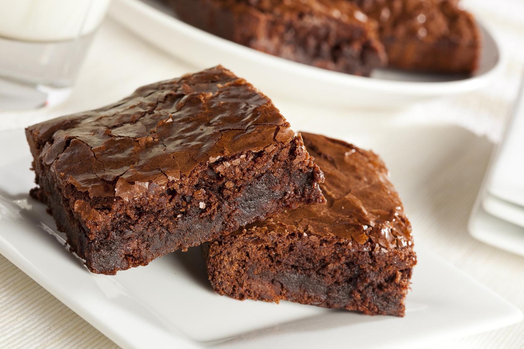 BROWNIE DE CHOCOLATE LINDT