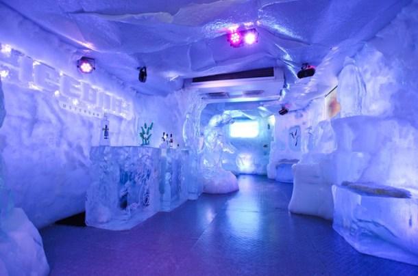 Bar de Gelo é inaugurado nesta terça no Rio de Janeiro
