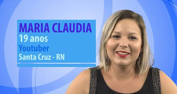 Participante do BBB 16 - MARIA CLAUDIA