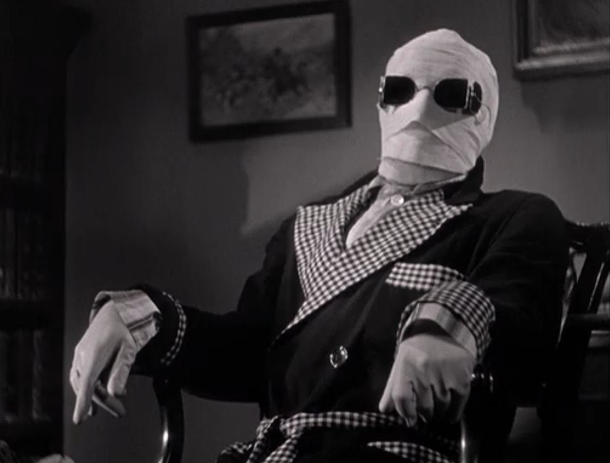 8. O Homem Invisível (1933)